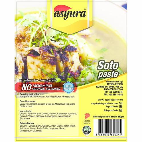 Asyura Soto Paste