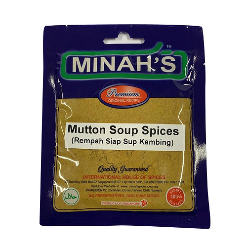 MINAH'S Mutton Soup Spices (50g)