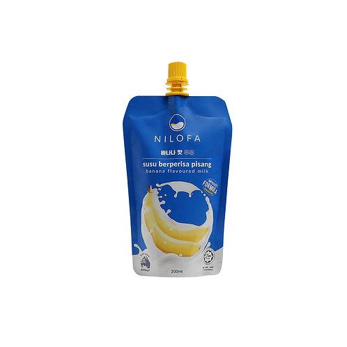 NILOFA Banana Flavoured Milk (200ml)