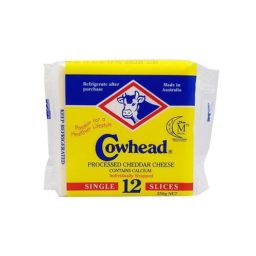 COWHEAD Sliced Cheese (12pcs)