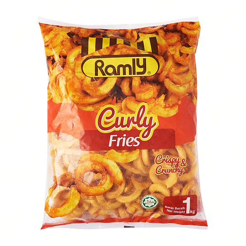 RAMLY Curly Fries (1kg)