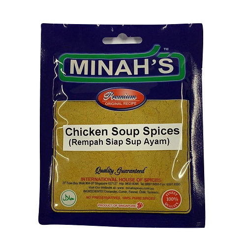 MINAH'S Chicken Soup Spices (50g)
