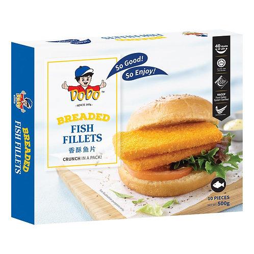 DODO Breaded Fish Fillets (500g)