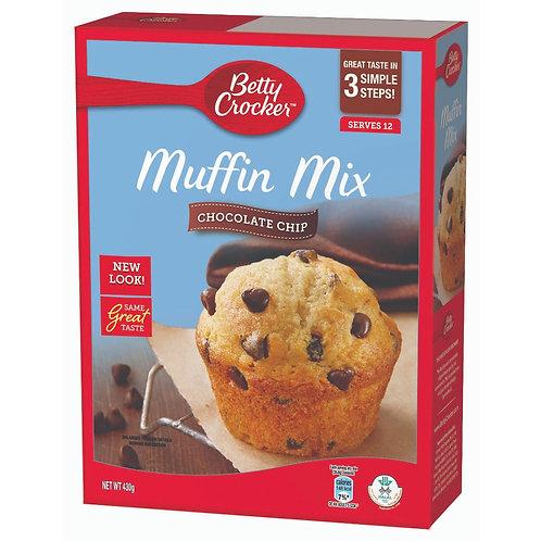 BETTY CROCKER Muffin Mix Choc Chip (430g)