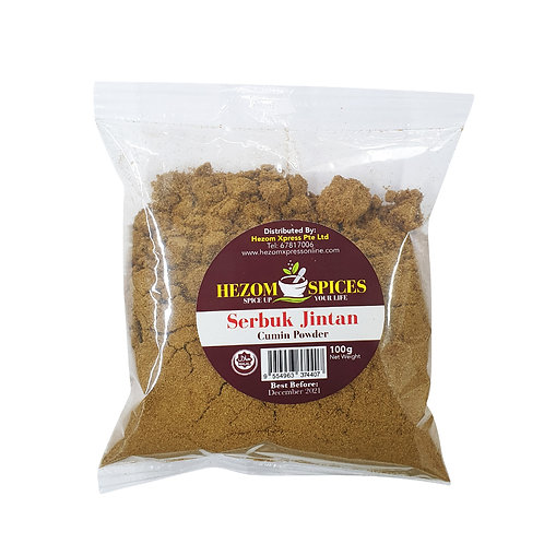 HEZOM SPICES Cumin Powder (Serbuk Jintan)