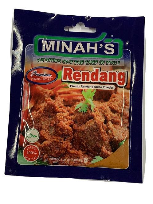 Minah's Rendang Powder 50g