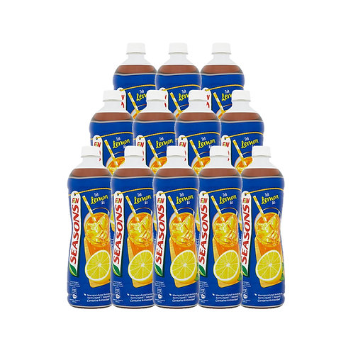 SEASONS Ice Lemon Tea (1L x 12)
