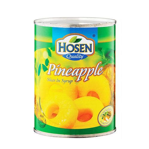 HOSEN Pineapple Sliced (565g/24pcs)
