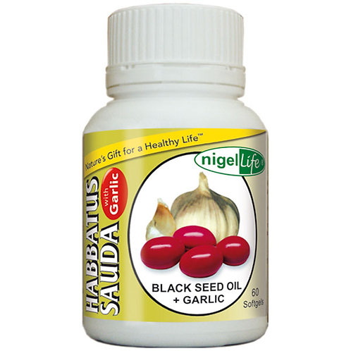Black Seed Oil with Garlic (Softgels)
