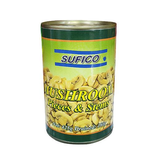 SUFICO Mushroom Pieces & Stems (425g)