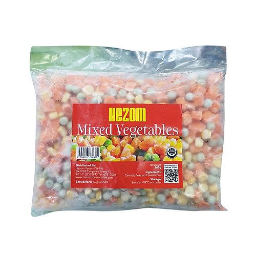 HEZOM Mixed Vegetables (500g)