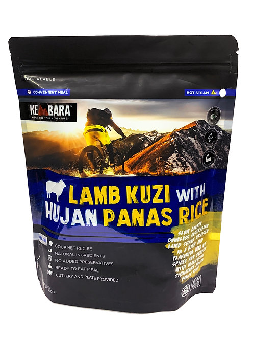 Kembara Lamb Kuzi with Hujan Panas Rice (370g)