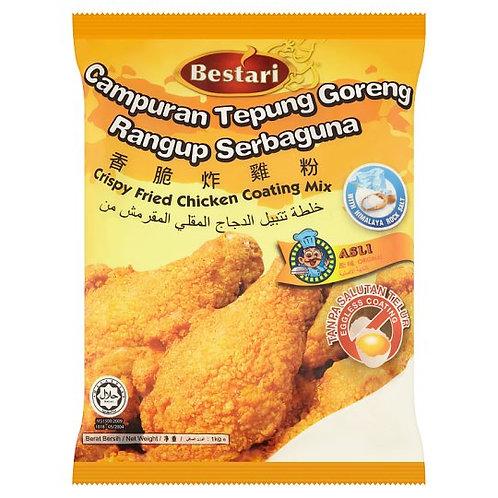 BESTARI Crispy Fried Chicken Coating (1kg)