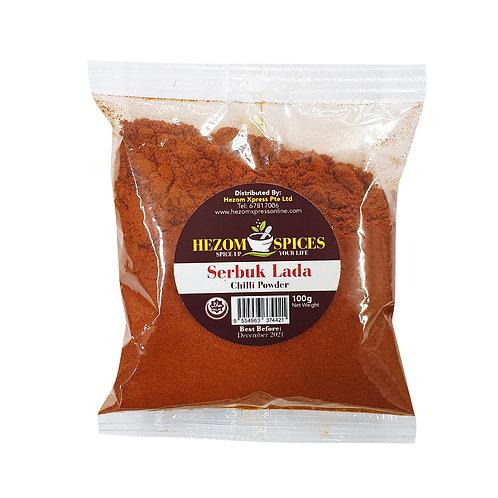 HEZOM SPICES Chilli Powder (Serbuk Lada)
