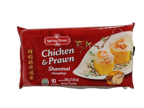 Spring Home Dumpling (Shao Mai) Chicken & Prawn 10 pcs