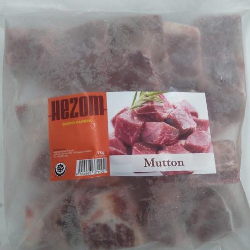 Hezom Mutton Cubes 1kg