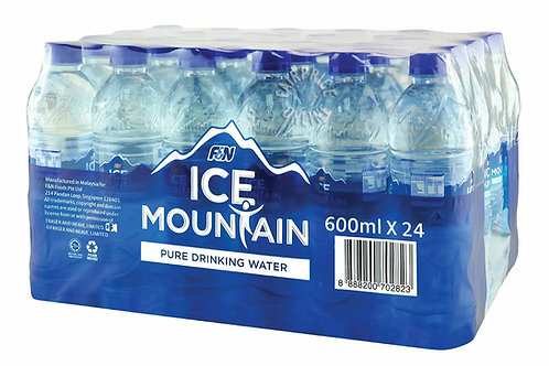 ICE MOUNTAIN Drinking Water (600ml x 24)
