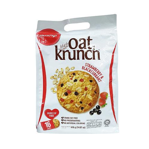 MUNCHY'S Oat Krunch Strawberry & Blackcurrant (416g)
