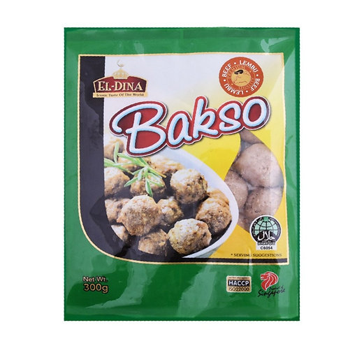 ELLAZIQ Beef Bakso Meatball (300g)