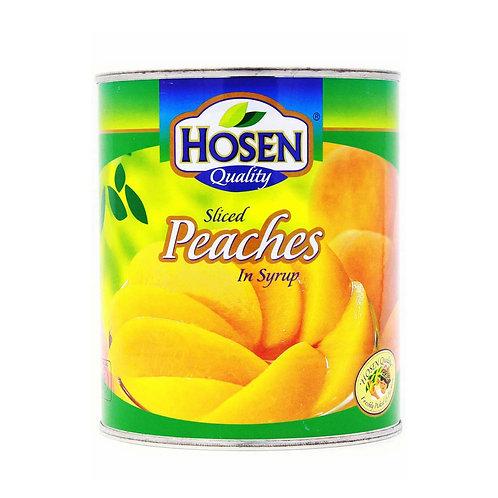 HOSEN Peach Sliced (825g/12pcs)