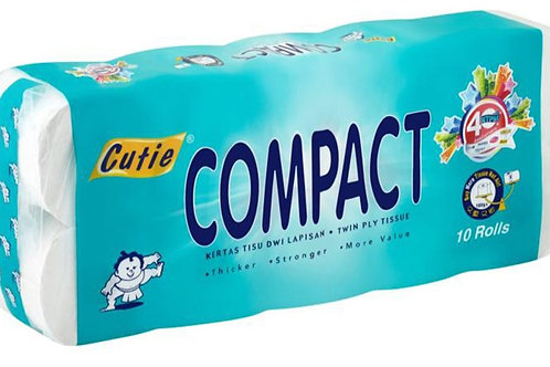 Cutie Compact 3ply Tissue Paper