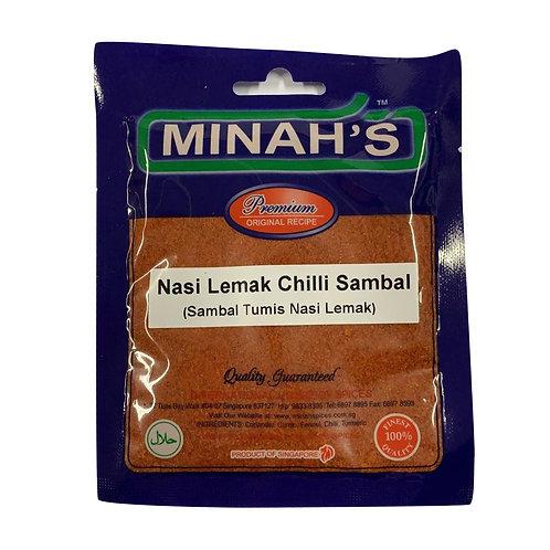 MINAH'S Nasi Lemak Chilli Sambal (50g)