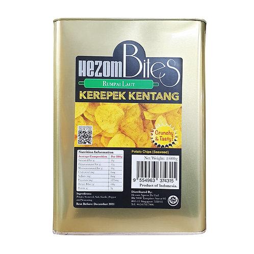 HEZOM Potato Chips Seaweed (600g)