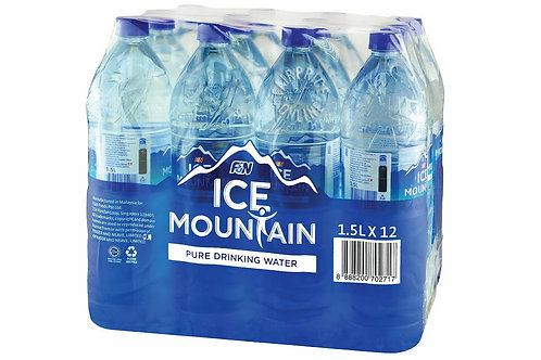 ICE MOUNTAIN Drinking Water (1.5L x 12)