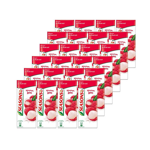SEASONS Lychee Drink (250ml x 24)