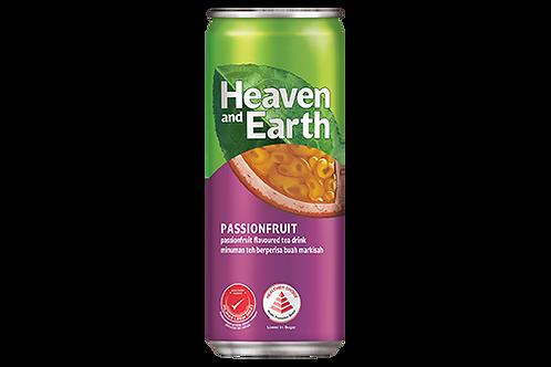 Heaven & Earth Passion Fruit Tea (300ml x 12)