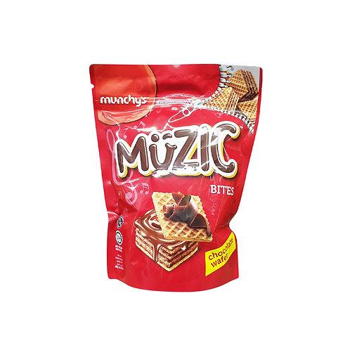 MUNCHY'S Muzic Choc Wafer Bites (180g)
