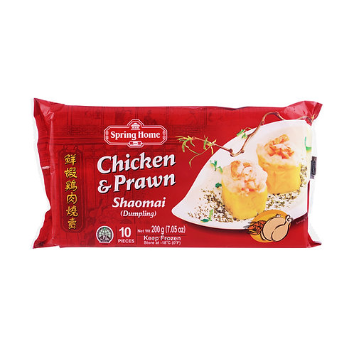 SPRING HOME Dumpling (Shao Mai) Chicken & Prawn (10pcs)
