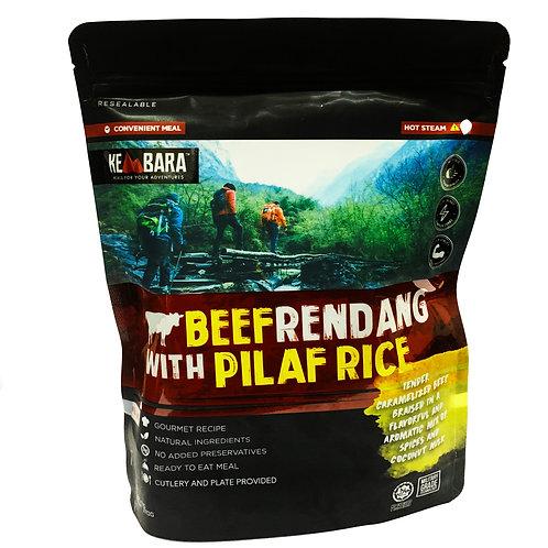 Kembara Beef Rendang with Pilaf Rice (370g)