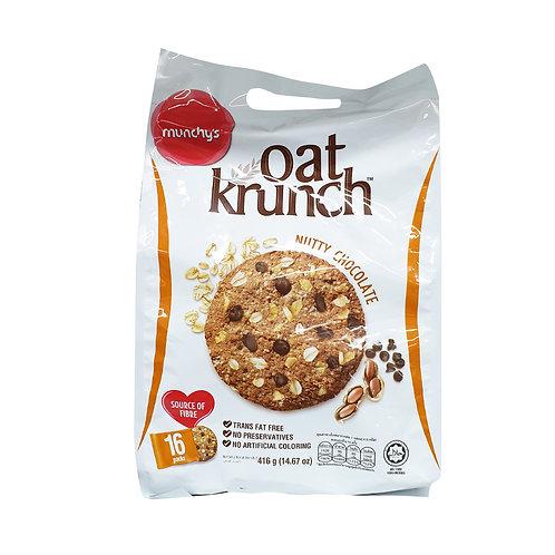 MUNCHY'S Oat Krunch Nutty Choc (416g)