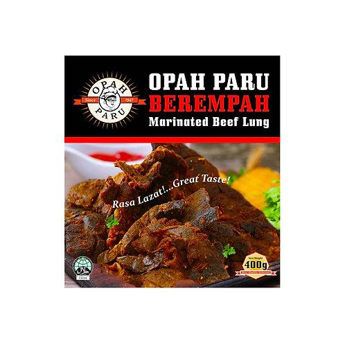 OPAH PARU Marinated Beef Lung (400g)