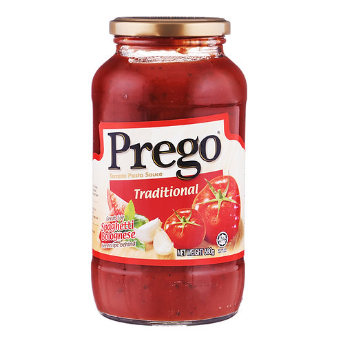 PREGO Traditional Pasta Sauce (680g)