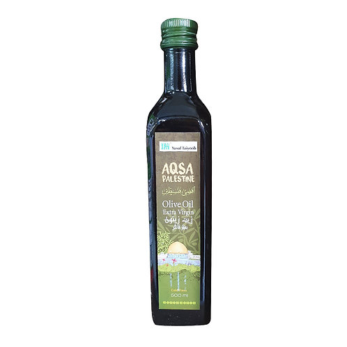 AQSA PALESTINE Extra Virgin Olive Oil (500ml)