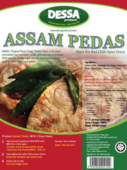 Dessa Assam Pedas