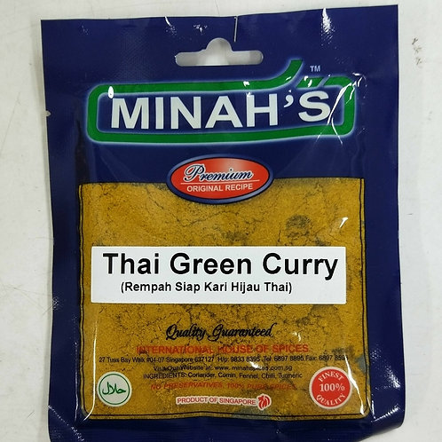 Minah's Thai Green Curry