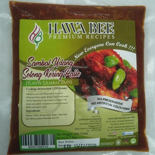 Hawa Bee Sambal Udang/Sotong 250g