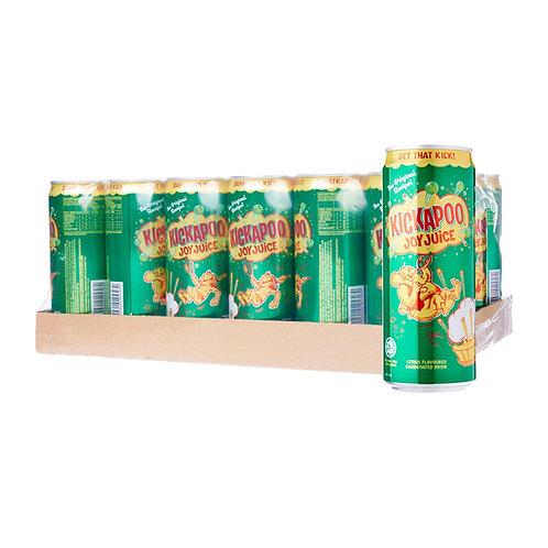 KICKAPOO Citrus Carbonated Drink (325ml x 24)