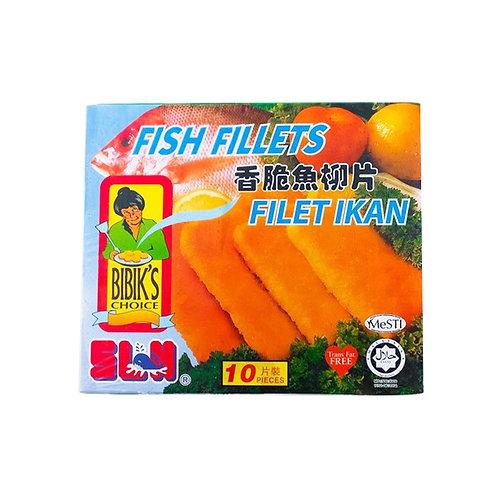BIBIK'S Fish Fillet (50g/10pcs)