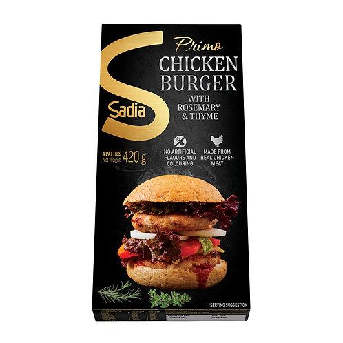 SADIA Primo Chicken Patties Rosemary & Thyme (420g)