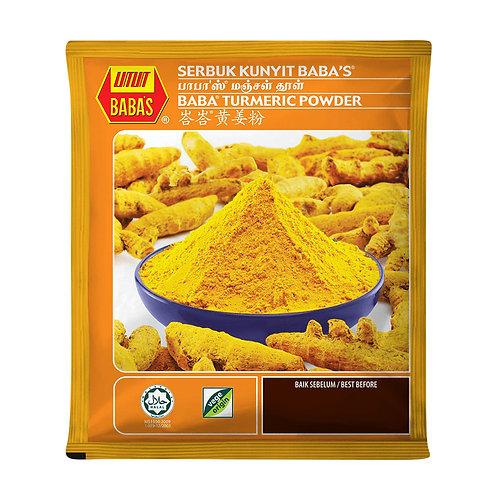 BABA'S Turmeric Powder (Serbuk Kunyit) (125g)