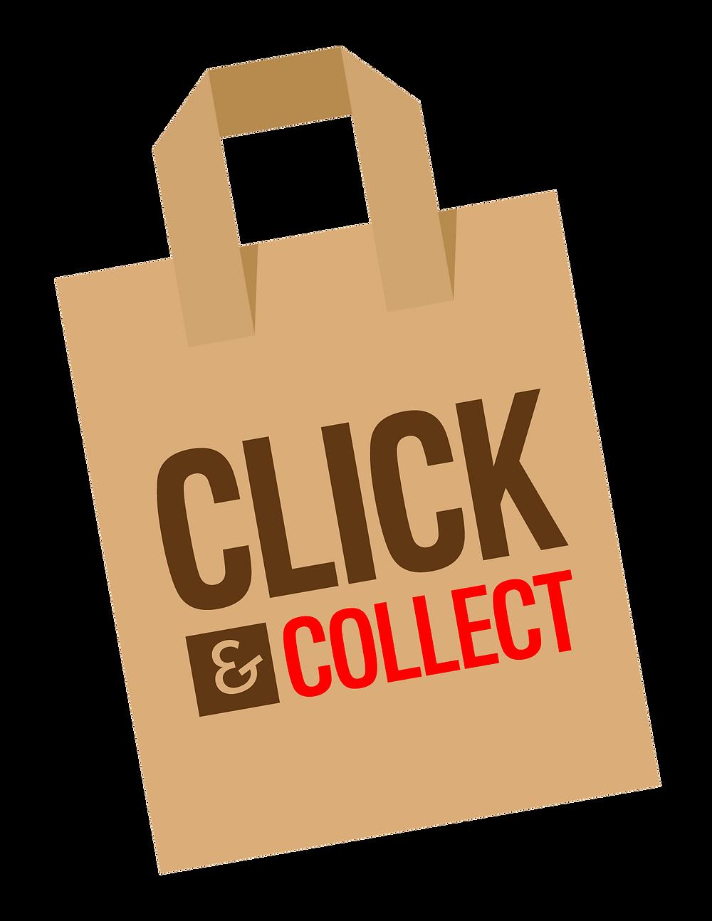 click and collect plateforme de vente en ligne