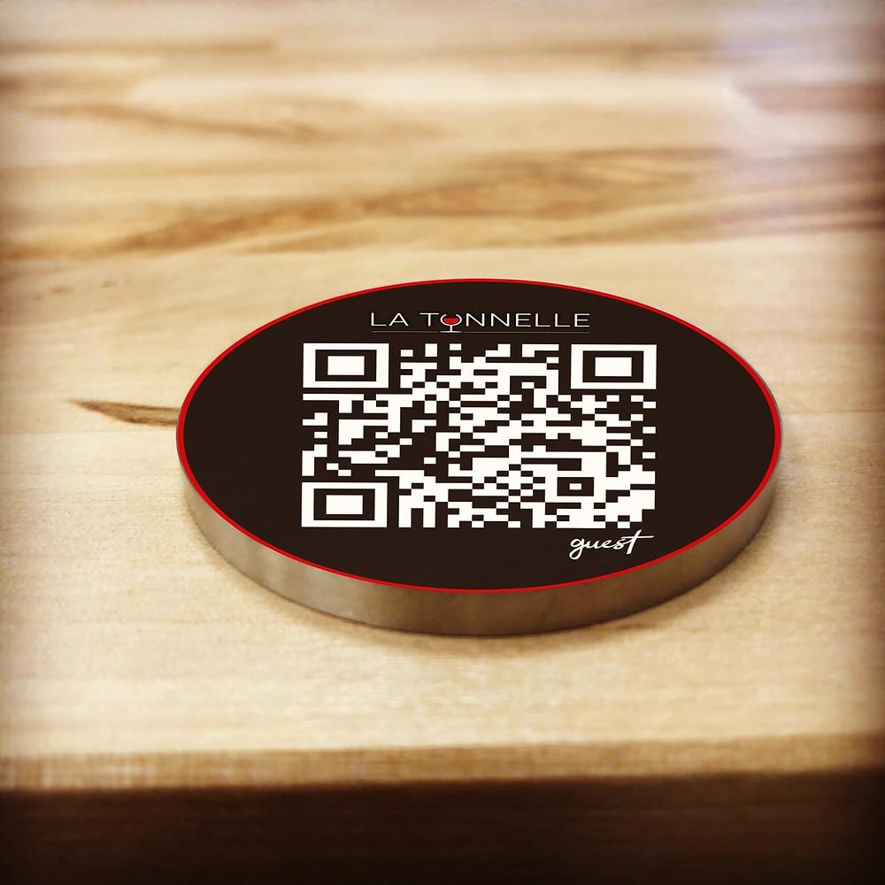 QR code restaurant hôtel plages Guest menu digital