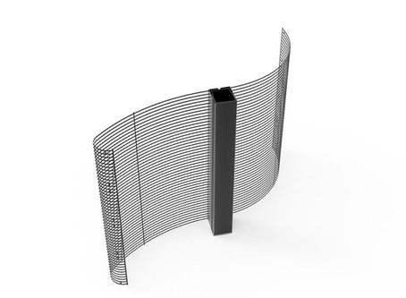 Ecran led transparent flexible pour vitrines de magasin