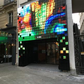 Média façade 3D
