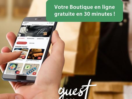 Commerçants : Créez votre Boutique en Ligne gratuite avec fonction Click & Collect
