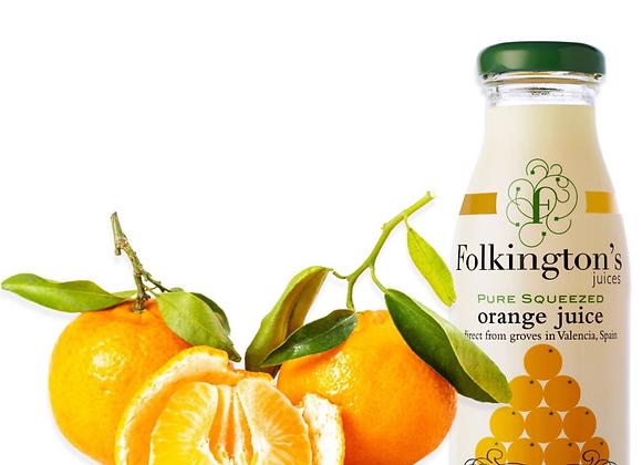 Folkington's Orange Juice 250ml